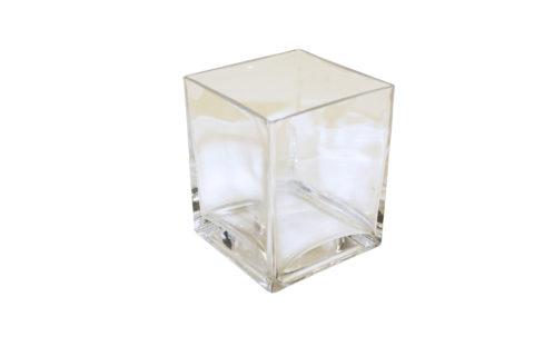 Glazen Vaasje Vierkant 1