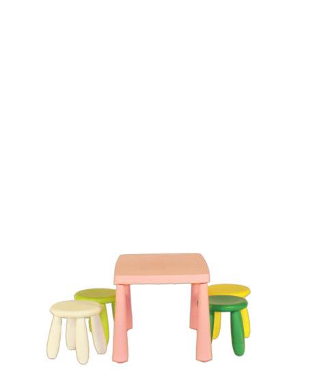Kindertafel Stoeltjes Set