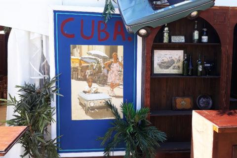 Cuba Bar Buitendetail